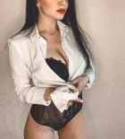 Настя — проститутка с большой грудью
